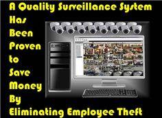 Surveillance System Eliminates Employee Theft
