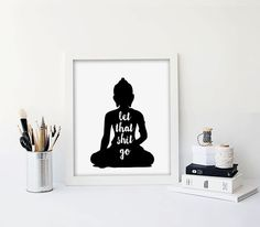 This listing is for a DIGITAL FILE of a vintage reproduction of a printable black Buddha poster. Available in 6 sizes, please choose from the drop down