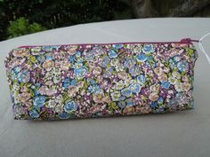 "Pencil Case - Liberty Fabric -""Chives"""