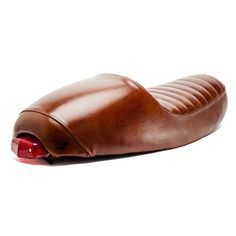 Special Edition Cafe Racer Seat in Leather: Triumph Motorcycle Parts | Motorcycle Gear | British Customs