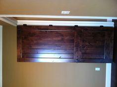 Interior Doors   plank door with dark stain   Bayer Built Woodworks