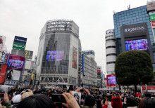 渋谷のスクランブル交差点 メインスクリーンにて ボディメイクスタジオcharmbodyの 動画の放送が決まりました!