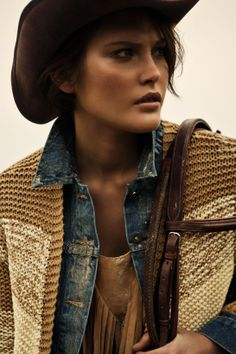 Catherine McNeil by Claudia & Stefan for Vogue Paris, February 2012