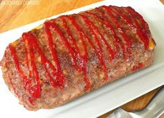 Joyously Domestic: Rockstar Cheesy Stuffed Meatloaf