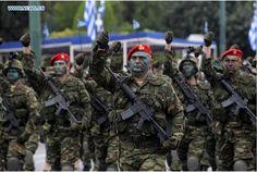 Hellenic Armed Forces : Εμείς είμαστε οι καλύτεροιΔείτε το γιατί ! (φοβερό video) Hellenic Army, Greek Soldier, Thessaloniki, Military History, Armed Forces, Warfare, Troy, Soldiers, Counting