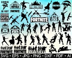 44 Fortnite Best Picks SVG • Fortnite Vector • Fortnite Bundle Silhouette • Fortnite Cut File • Fortnite Shirt • Battle Royale • Instant Download 🌀 Welcome to SvgExpert🌀 🤗 ------------------------------------------------------------------------------------------- These cliparts are