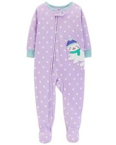 New Carter/'s Girl Sleep n Play Pink Unicorn Print /& Footed NB 3m 6m NWT Girls