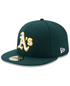 New Era Kids  Oakland Athletics Authentic Collection 59FIFTY Cap - Green 6  1 2 a9dfdb3318e