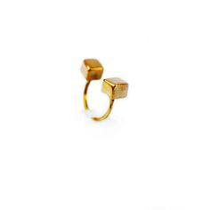Anillo Doble Ginesa gold. Russel 5008, Palermo. Buenos Aires. Argentina. www.heliciabsas.com Helicia Bs As