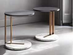 Marble meets Metal Side table RALF | Coffee table