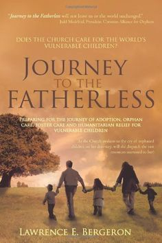Journey to the Fatherless: Preparing for the Journey of Adoption, Orphan Care, Foster Care and Humanitarian Relief for Vulnerable Children by Lawrence E. Bergeron
