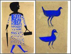 Bill Traylor blue bird