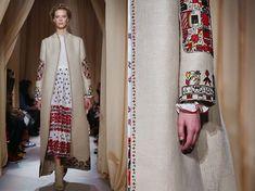 Slavic Clothing on Valentino Fashion Week in Paris   Slavorum