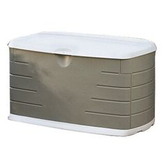 Rubbermaid 75-Gal. Durable Bench Outdoor Storage Deck Box Sheds Resin Container #Rubbermaid