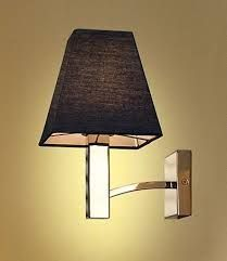 Znalezione obrazy dla zapytania black wall light glamour