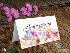 Esküvői ültetőkártya, meghívó, rózsa lap, rózsaszín Esküvői ültető, Esküvő Képeslap, virágos lap,, Esküvő, Naptár, képeslap, album, Meghívó, ültetőkártya, köszönőajándék, Esküvői dekoráció, Meska
