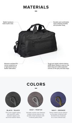 Lightweight. Durable. Stylish. Organized. Travelers, meet your new sidekick. | Check out 'PAKT One: The Only Travel Bag You'll Ever Want' on Indiegogo.