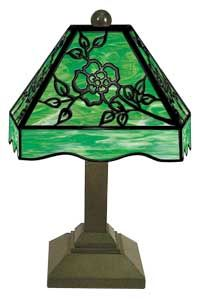 Patterns for Stained Glass Lamps - Warner Stained Glass- Put in your own dimensions to create custom panel patterns!