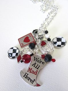 Alice in Wonderland / Mad Hatter themed by PepperboxCreations, $22.00