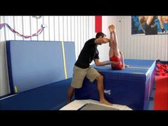 Teaching back tumbling to gymnasts without pounding | Swing Big!