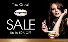 The Great Häagen-Dazs Sale: Up to 50% Off