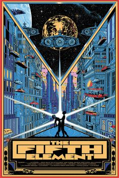 THE FIFTH ELEMENT Art Poster — GeekTyrant