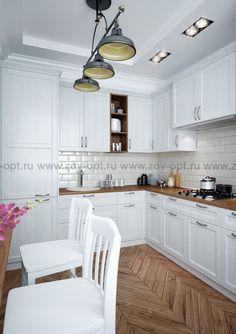 Кухни фабрики ЗОВ Марсель-4 купить  недорого в Москве. Заказать Рамочный МДФ по цене от 25800 руб.