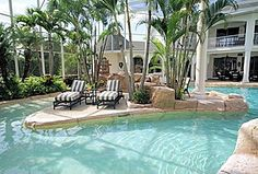 Great Tropical Swimming Pool