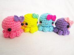 Amigurumi Octopus Mohu : A little love everyday!: baby octopus amigurumi free pattern