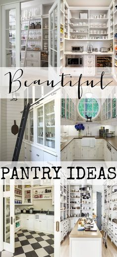 Check out these amazing pantries & butler's pantries. So many beautiful photos full of ideas and inspiration. Get lots of ideas for your own home.