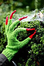 I'm making these for Halloween.  It's nearly always cold enough to warrant gloves or mittens!