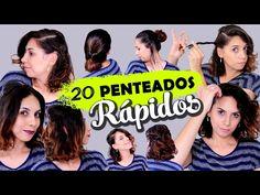 20 PENTEADOS FÁCEIS DE FAZER SOZINHA! - YouTube