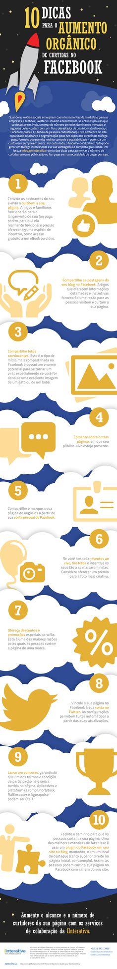 10 dicas para o aumento orgânico da Curtidas no Facebook - Assuntos Criativos