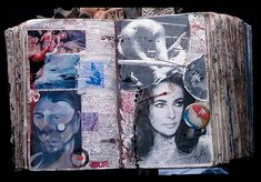 Diary Pages, March 5-6, Stolen from Canal + Studio by Peter Beard, 1978