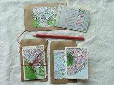 another great use for old maps