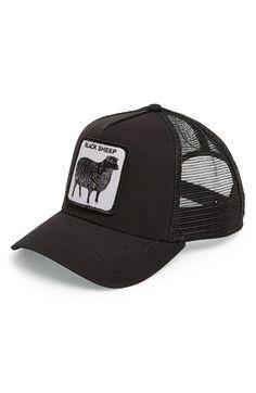 Goorin Brothers  Animal Farm - Naughty Lamb  Trucker Cap available at   Nordstrom Mens 8871f3fd2682