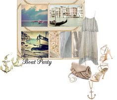 """""""Boat party"""" by jellisa ❤ liked on Polyvore"""