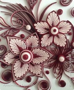 Fancy flowers in quilling techniques.  Master Class Anastasia Bertovoy (1) (394x480, 221Kb)