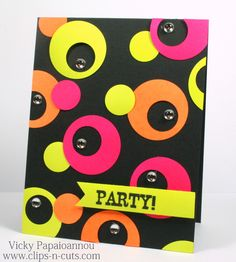 A fun and bright card!