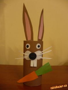 July Crafts, Easter Crafts, Diy And Crafts, Crafts For Kids, Arts And Crafts, Cardboard Tube Crafts, Toilet Paper Roll Crafts, Old Paper, Happy Easter
