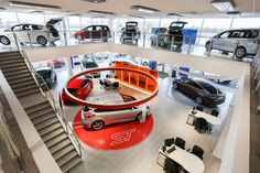 Our stunning flagship FordStore, Leicester
