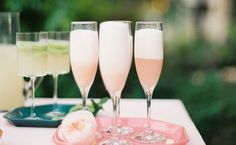A Sparkling Prickly Pear Tequila Cocktail Pink Cocktails, Summer Cocktails, Pina Colada, Margarita Recipes, Cocktail Recipes, Cocktail Engagement Party, Engagement Parties, Prickly Pear Recipes, Outdoor Dinner Parties