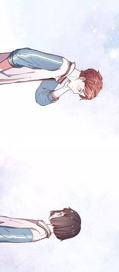 Cậu Đã Từng Yêu Tôi Chap 13 Manga Anime, Art Manga, Fanarts Anime, Anime Chibi, Kawaii Anime, Cute Couple Art, Anime Love Couple, Cute Anime Couples, Anime Couples Drawings