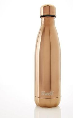 Bring all your favorite hot and cold beverages with you to work, school or wherever you go with the Swell Water Bottle in Rose, White and Yellow Gold. These stylish bottles are not just about their looks the S'well Water Bottle will allow you to keep your cold drink cold for 24 hours. Thanks to its double walled 18/8 stainless steel construction, S'well Water Bottles will keep your hot drinks that way for 12 hours.