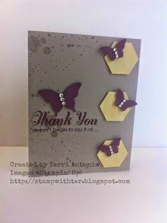 Fun Challenges, Daffodils, Stampin Up Cards, Color Inspiration, Thank You Cards, Punch, Birthday Cards, Grunge, Place Card Holders