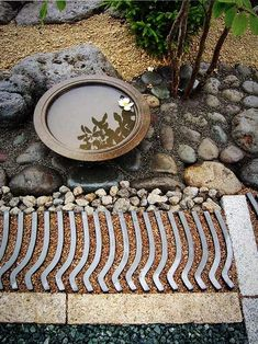 Garden's Pretty Paving Smile Garden's Pretty Paving The Gardenist.want a japanese,chinese, rock style garden.Smile Garden's Pretty Paving The Gardenist.want a japanese,chinese, rock style garden. Japan Garden, Garden S, Water Garden, Dream Garden, Garden Paths, Garden Paving, Japanese Garden Design, Chinese Garden, Japanese Style