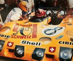 CA 24 Heures du Mans 1972-Ecurie Bonnier Switzerland-Lola T 280-Jo Bonnier and Gijs van Lennep-Gérard Larrousse