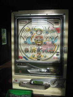 pachinko machine   ... 50's Original Authentic Sankyo Pachinko Machine 260 Metal…