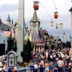 @LindaPruyn... Just what we were talking about the other day!! The Old Fantasyland at the Magic Kingdom Walt Disney World.