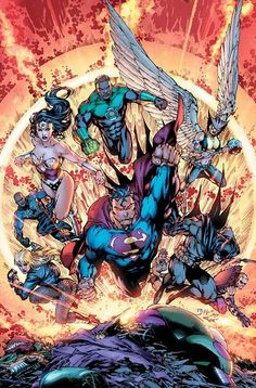 The JLA - Jim Lee